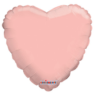 "9""K Heart Rose Gold (10 count)"
