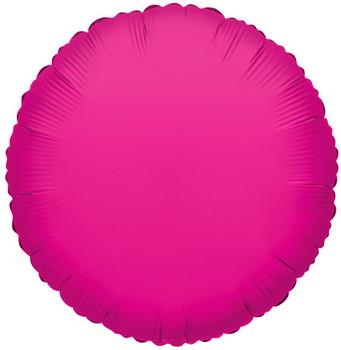 "9""K Round, Hot Pink(10 count)"