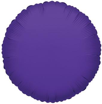 """9""""K Round, Purple(10 count)"""