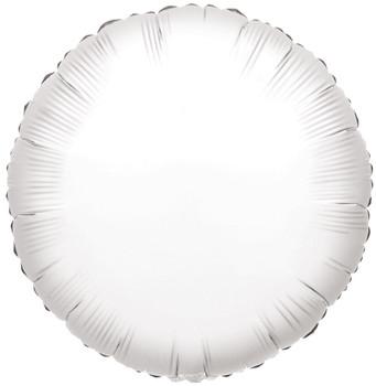 """9""""K Round, White(10 count)"""
