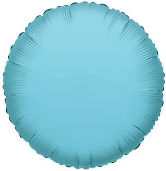 """18""""K Round Baby Blue (10 count)"""