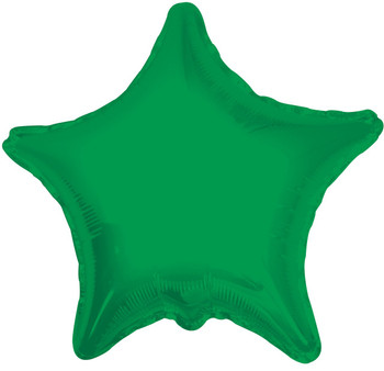 "18""K Star, Emerald Green (10 count)"
