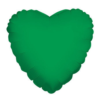 "18""K Heart Emerald Green(10 count)"