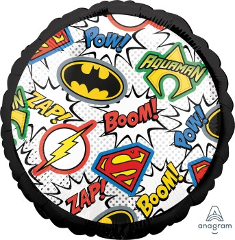 "18""A Justice League Logos (5 count)"