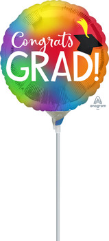 "9""A Congrats Grad Colorful (10 count)"