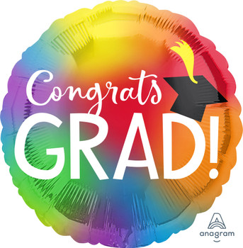"28""A Congrats Grad Colorful (5 count)"