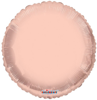 "18""K Round, Rose Gold (10 count)"