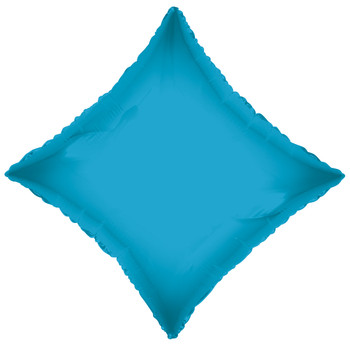 "18""K Diamond, Turquoise Blue (10 count)"