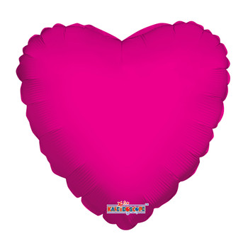 """18""""K Heart Hot Pink (10 count)"""
