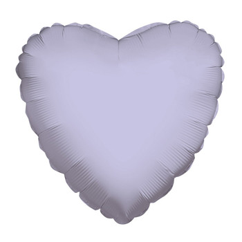 "18""K Heart Lilac (10 count)"