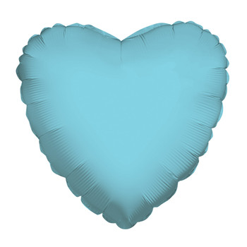 "18""K Heart, Baby Blue(10 count)"