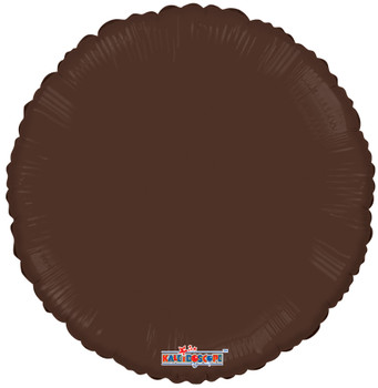 "18""K Round, Chocolate Brown (10 count)"
