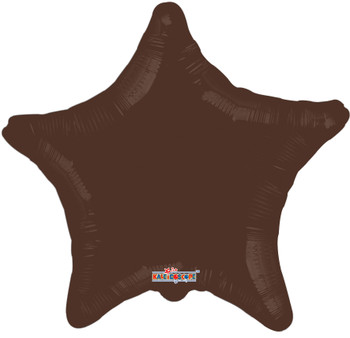 "18""K Star, Chocolate Brown (10 count)"