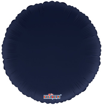 "18""K Round, Navy Blue (10 count)"