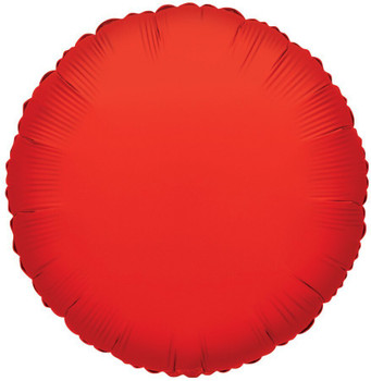 """18""""K Round, Red(10 count)"""
