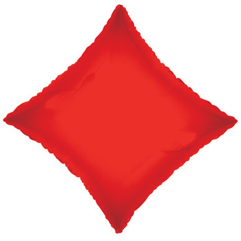 "18""K Diamond, Red(10 count)"
