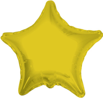 "18""K Star, Gold(10 count)"