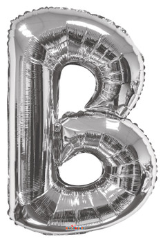 "34""K Silver Letter B (1 count)"