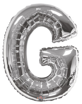 "34""K Silver Letter G (1 count)"