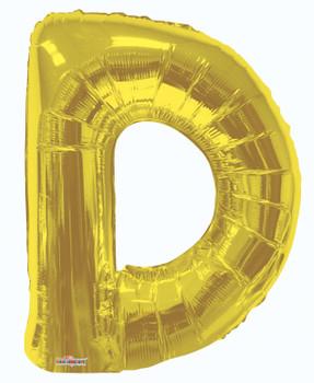 """34""""K Gold Letter D (1 count)"""