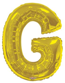 """34""""K Gold Letter G (1 count)"""