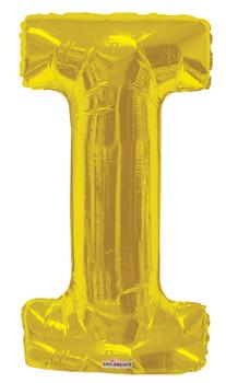 """34""""K Gold Letter I (1 count)"""