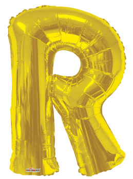 """34""""K Gold Letter R (1 count)"""