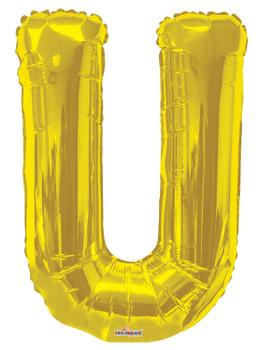 """34""""K Gold Letter U (1 count)"""