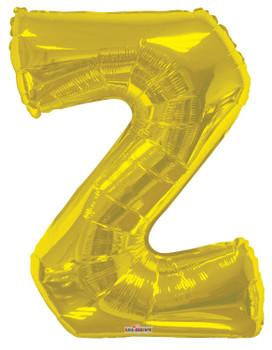 """34""""K Gold Letter Z (1 count)"""