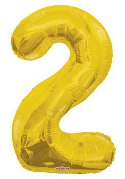 "34""K Gold Number 2 (1 count)"