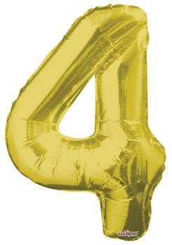 "34""K Gold Number 4 (1 count)"