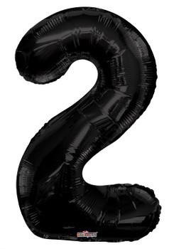 """34""""K Black Number 2 (1 count)"""