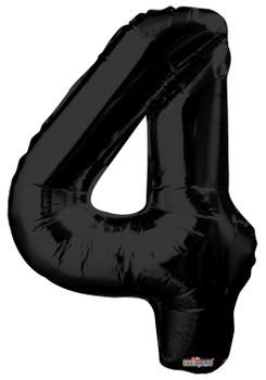 """34""""K Black Number 4 (1 count)"""