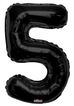 """34""""K Black Number 5 (1 count)"""