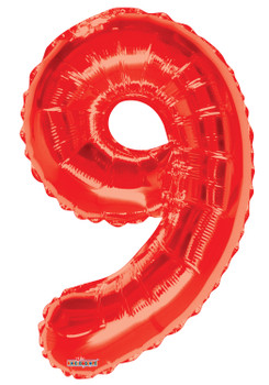 "34""K Red Number 9 (1 count)"
