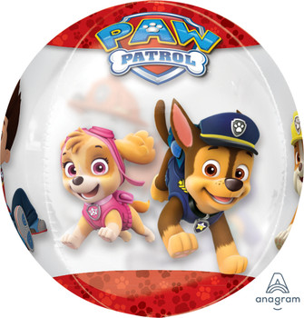 "15""A Paw Patrol Clear Orbz (1 count)"