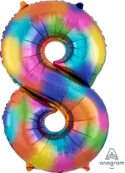 "34""A Rainbow Splash #8 (1 count)"