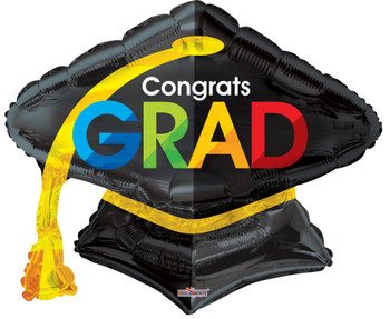 "28""K Grad Cap Shape (5 count)"