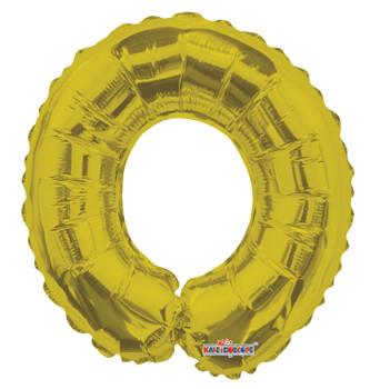"""14""""K Gold Letter O (5 count)"""