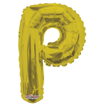 "14""K Gold Letter P (5 count)"