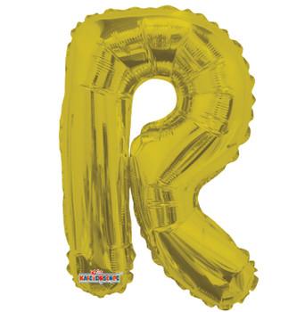 """14""""K Gold Letter R (5 count)"""