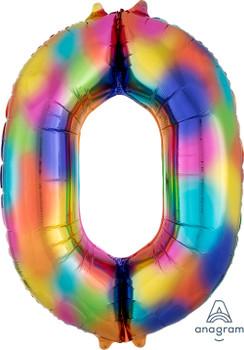 "34""A Rainbow Splash #0 (1 count)"