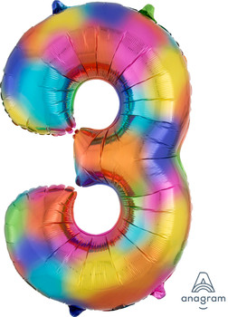 "34""A Rainbow Splash #3 (1 count)"