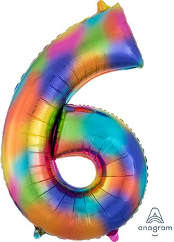 "34""A Rainbow Splash #6 (1 count)"