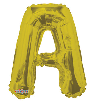 """14""""K Gold Letter A (5 count)"""