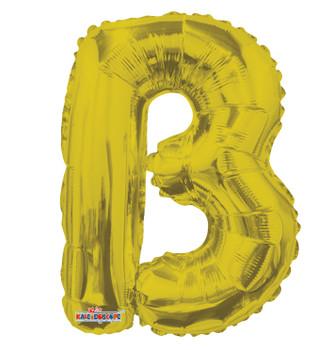 """14""""K Gold Letter B (5 count)"""