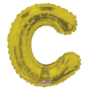 """14""""K Gold Letter C (5 count)"""
