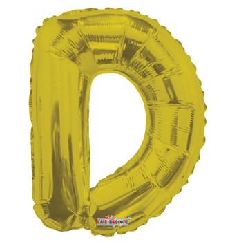 """14""""K Gold Letter D (5 count)"""
