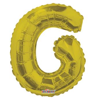 """14""""K Gold Letter G (5 count)"""