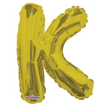 """14""""K Gold Letter K (5 count)"""